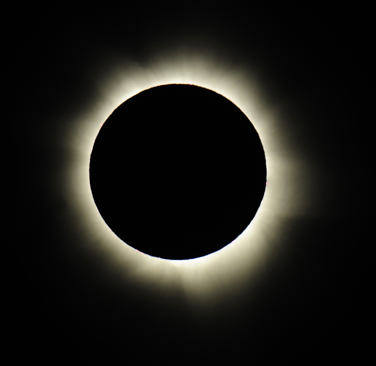 Images of the Solar Eclipse