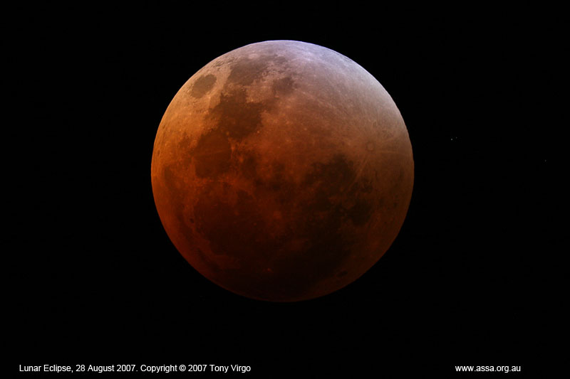 2007 Total Lunar Eclipse