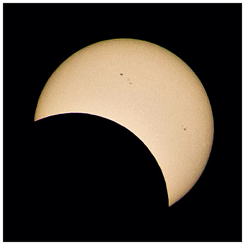Partial Eclipse from Adelaide by David Hein